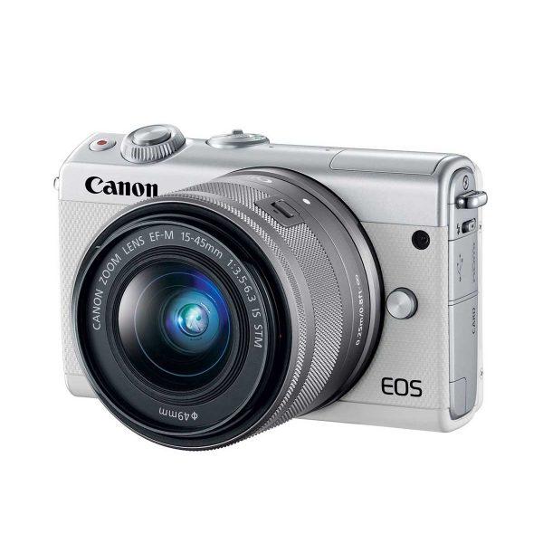دوربین بدون آینه کانن Canon EOS M100 with 15-45mm STM White