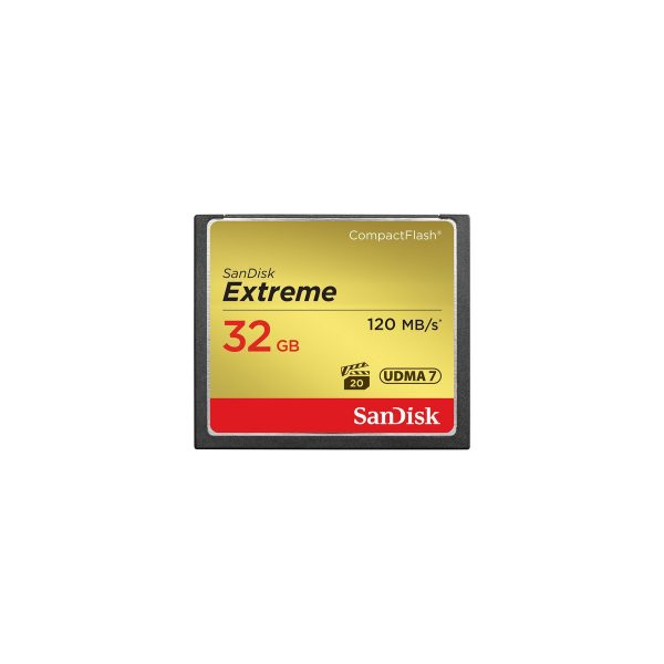 Sandisk 32GB Extreme Compact Flash 800X - SDCFXSB-032G