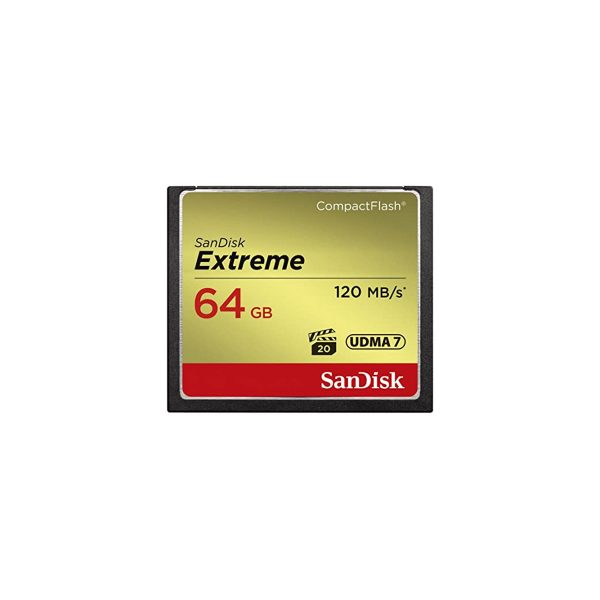 SanDisk 64GB Extreme Compact Flash Memory Card