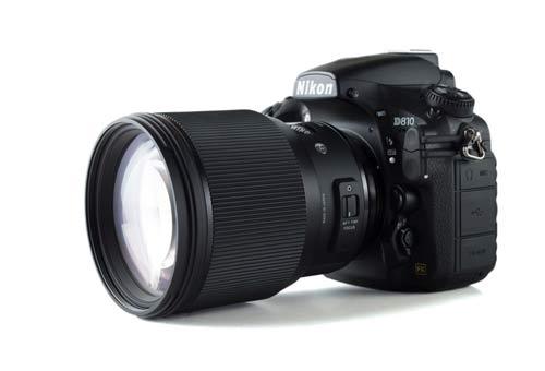 لنز سیگما Sigma 85mm f/1.4 DG HSM Art for Nikon F